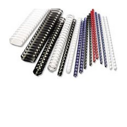 GBC Binding Combs 8mm A4 21-Ring Red Pack 100