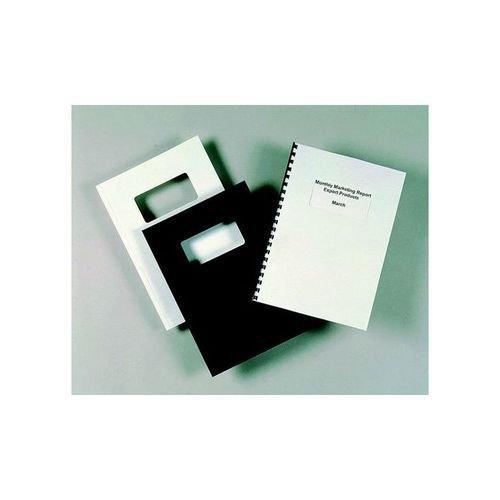GBC Binding Cover PVC A4 Clear Pack 50