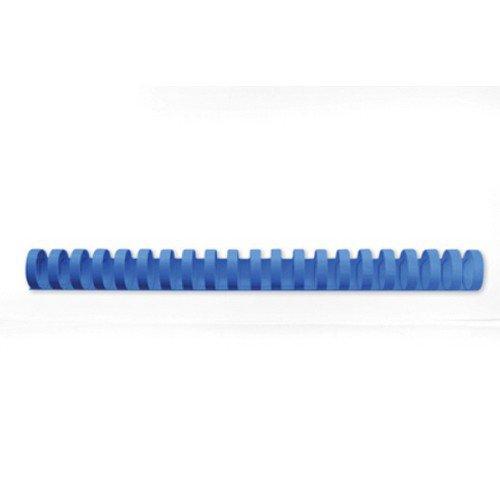 GBC Binding Combs 19mm 21 Ring Blue Pack 100