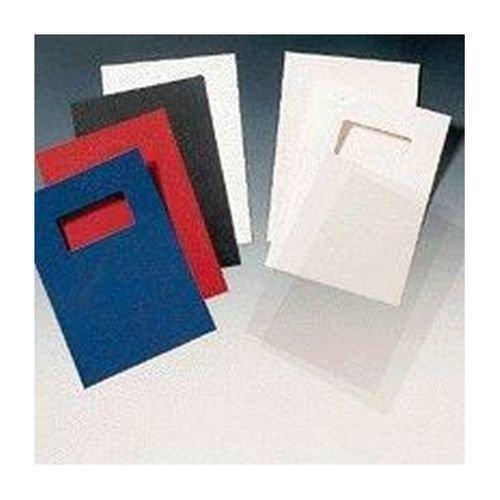 GBC Leathergrain Covers A4 Black Pack 50