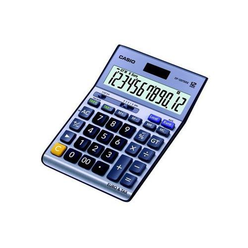 Casio  DF-120EM-W-EP 12 Digit Desktop Calculator with Tax and Currency Convertor