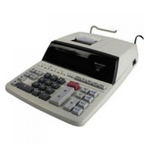 Sharp EL-2607PGYUK Office Printing Calculator Two Colours Print 12-Digit Digitron Display AC Power