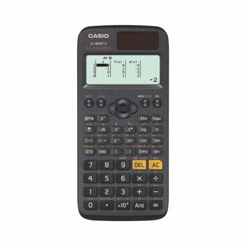 Casio Scientific Calculator Black
