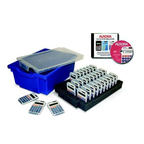 Aurora CK30 Class Kit including 30 x HC133 Calculators & Gratnells Tray