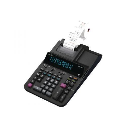Casio Printing Calculator Euro Tax Mains-power 12 Digit 3.0 Lines/sec 213x343x88mm