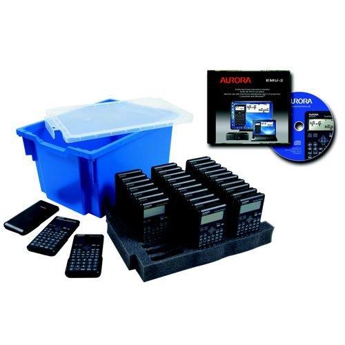 Aurora CK59 Scientific Calculator Class Kit 3 with 30 x AX-595TV Calculators & Free Emulator for IWB