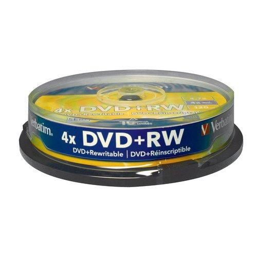 Verbatim DVD+RW Spindle Pack 10