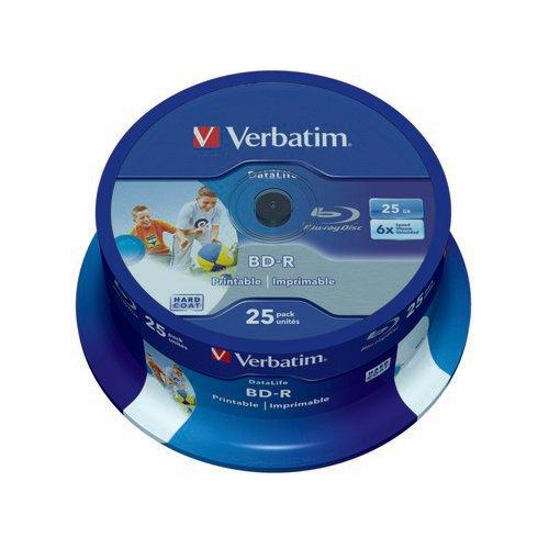 Verbatim Blu-ray Inkjet Printable 25GB 25s