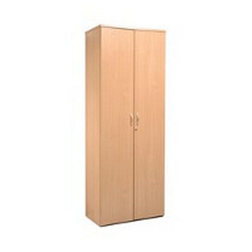 Dams 5 Shelf Bookcase 2140H/800W/470D 25mm Top Oak