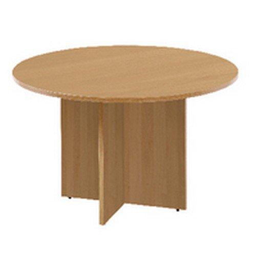 Arista Oak 1100mm Round Meeting Table KF72049