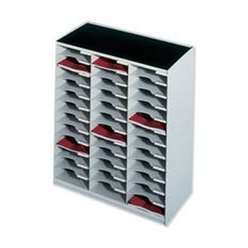 Fastpaper Paperflow Mailsorter 36 Compartment Grey 80302 W674 x D308 x H791