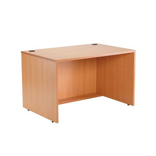 Jemini Intro 1200 Modular Straight Base Unit Beech 1200MASABE Reception Desks DS2509