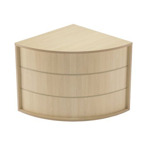 Jemini Intro Modular Corner Base Unit Maple RADIUSKOSEMMA