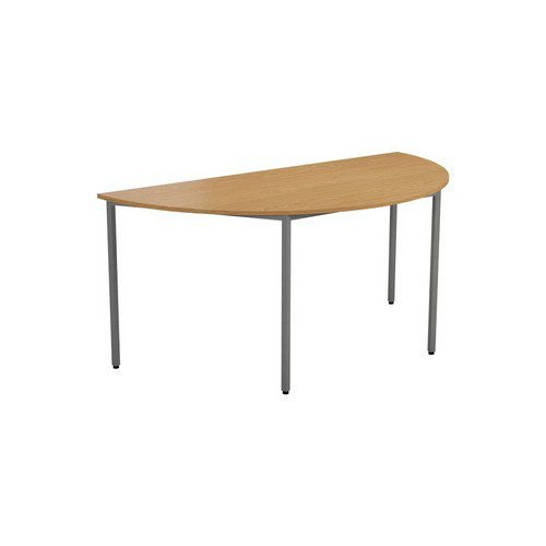 Jemini 18 Multipurpose 18mm Semi Circular Table W1600 Oak