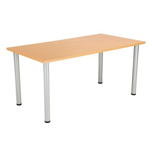 Jemini Beech 1800x800mm Rectangular Meeting Table KF840172