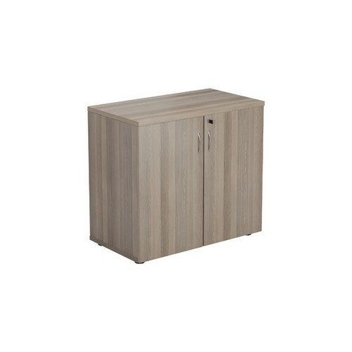 Jemini Grey Oak 730mm 1 Shelf Cupboard KF840152