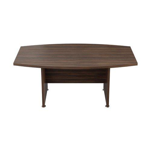 Executive Boardroom 1800Mm Meeting Table Dark Walnut