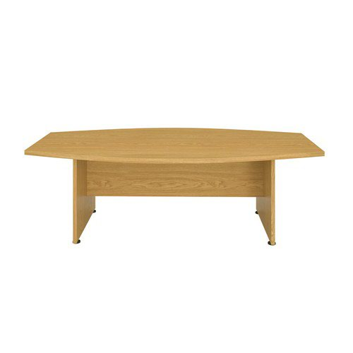 Executive Boardroom 2400Mm Meeting Table Grey Oak