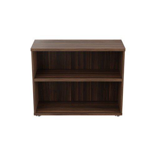 Executive Bookcase 800Mm Dark Walnut