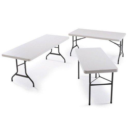 Polyfold Table 4ft  Rectangular 122cm