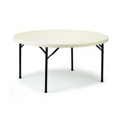 Polyfold Table 4' Circular 122cm