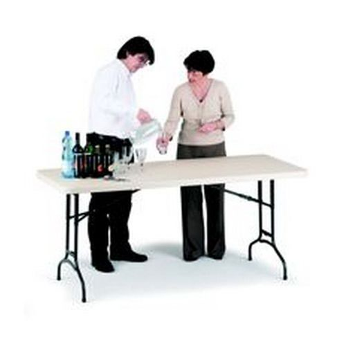 Polyfold Table 6ft  Height Adjustable 183cm