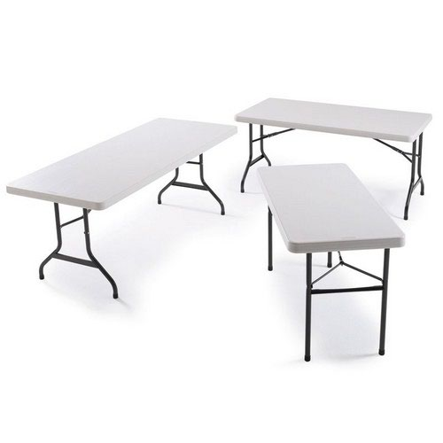 Polyfold Table Square 91cm