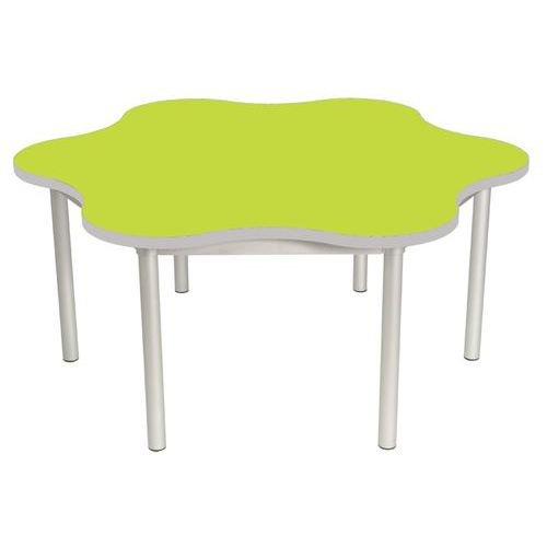 Gopak Enviro Daisy Table H640 Lime/Grey Edge
