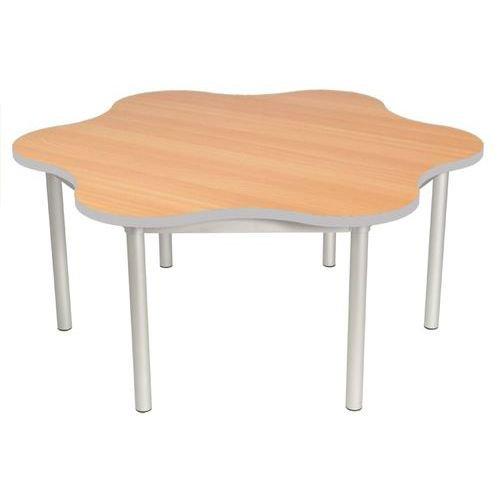 Gopak Enviro Daisy Table H640 Beech/Grey Edge
