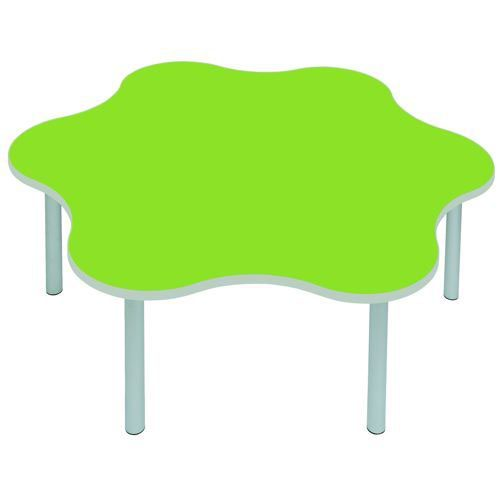 Gopak Enviro Daisy Table H530 Lime/Grey Edge