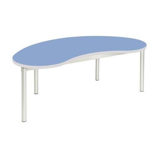 Gopak Enviro Bean Table H640 Blue/Grey Edge
