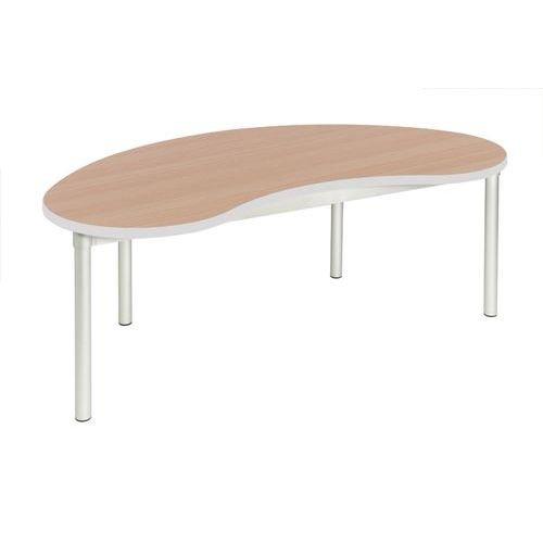 Gopak Enviro Bean Table H640 Beech/Grey Edge