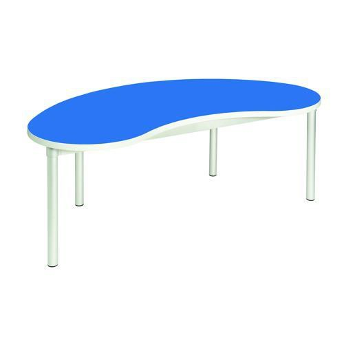 Gopak Enviro Bean Table H530 Blue/Grey Edge