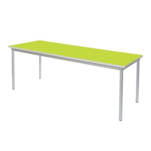 Gopak Enviro Dining Table H710 Lime/Grey Edge