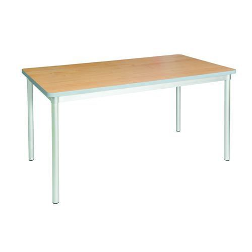 Gopak Enviro Dining Table H710 Beech/Grey Edge