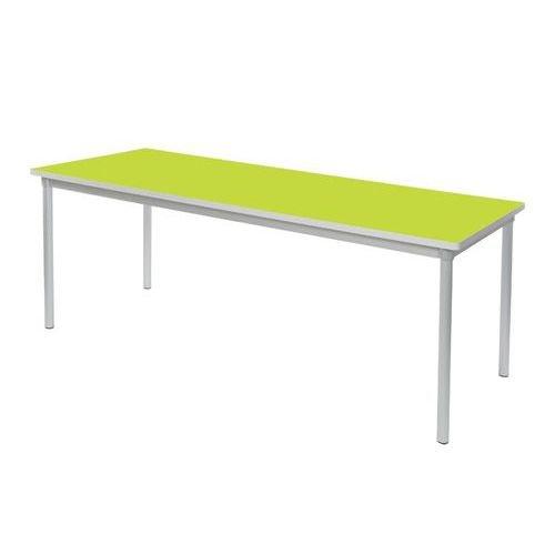 Gopak Enviro Dining Table H590 Lime/Grey Edge