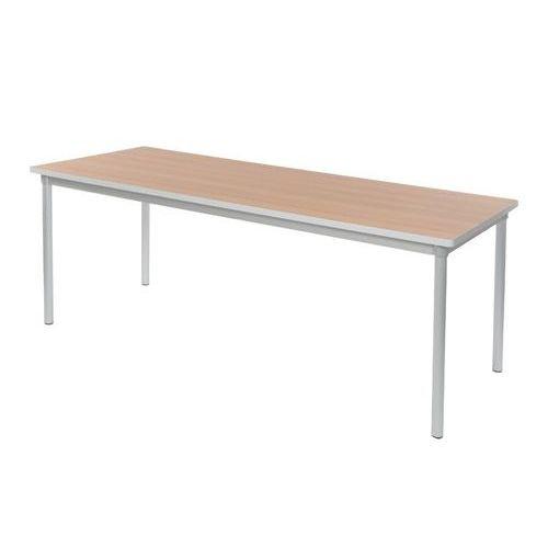 Gopak Enviro Dining Table H590 Beech/Grey Edge