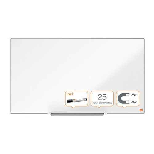 Nobo Impression Pro Widescreen Enamel Magnetic Whiteboard 890x500mm White