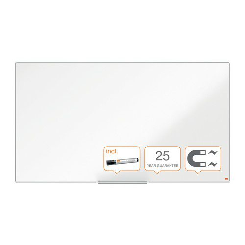 Nobo Impression Pro Widescreen Enamel Magnetic Whiteboard 1550x870mm White