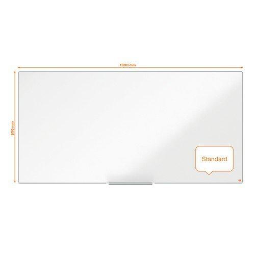Nobo Impression Pro Enamel Magnetic Whiteboard 1800x900mm White