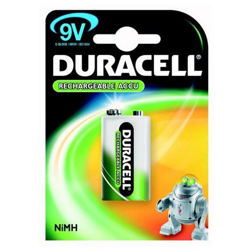 Duracell Rechargeable 9V Batteries
