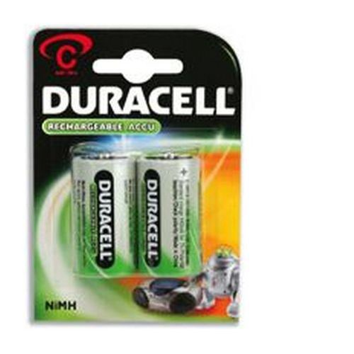 Duracell Rechargeable C Batteries Pack 2 Rechargeable Batteries EA6820
