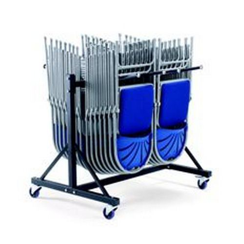 Low Hanging Trolley 2 Rows Holds 68 x 2200/2000 Series Chairs and 36 x 2600/2700 Series Chairs
