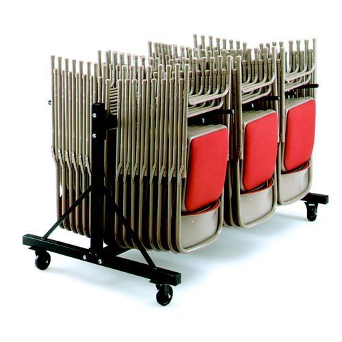 Low Hanging Trolley 3 Rows Holds 102 x 2200/2000 Series Chairs and 54 x 2600/2700 Series Chairs