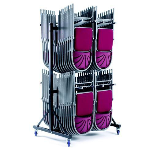 High Hanging Trolley 2 Rows Holds 136 x 2200/2000 Series Chairs and 72 x 2600/2700 Series Chairs