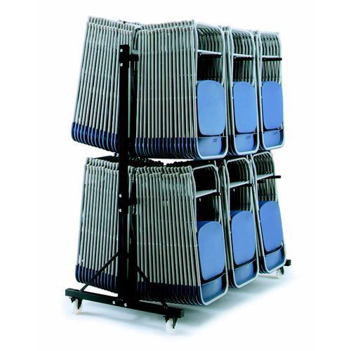 High Hanging Trolley 3 Rows Holds 204 x 2200/2000 Series Chairs and 108 x 2600/2700 Series Chairs
