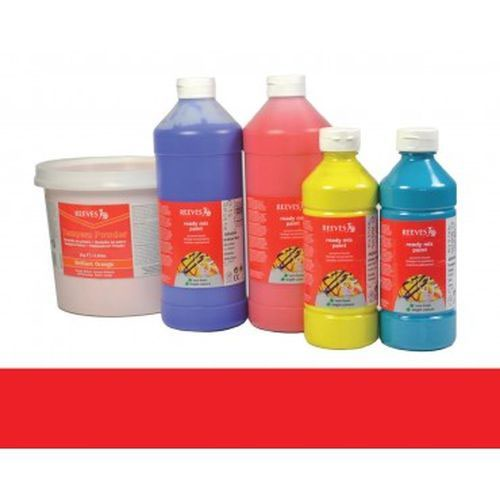 Brilliant Red Reeves Redimix Paint 500ml