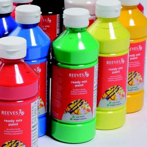 Classpack Redimix Paint Assorted 500ml Pack 20