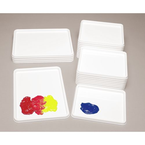 Colour Mixing Trays 250x200mm Pack 20