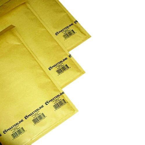 Master In Bubble Mailer G4 Gold Id-230x335mm Od-250x345mm 100 per Box
